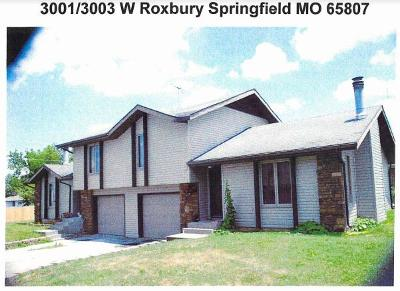 Springfield Multi Family Home For Sale: 3001 West Roxbury Street