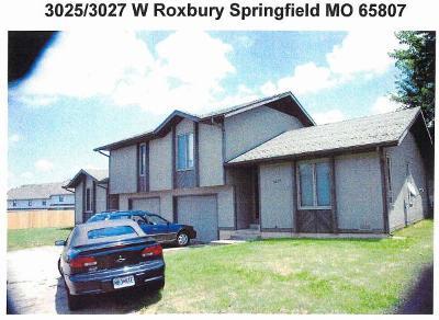 Springfield Multi Family Home For Sale: 3025 West Roxbury Street