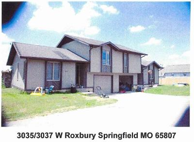 Springfield Multi Family Home For Sale: 3035 West Roxbury Street