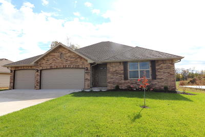 Springfield Single Family Home For Sale: 5594 West Pecan Street #Lot 18