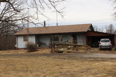 Weaubleau Single Family Home For Sale: 13553 County Road 186