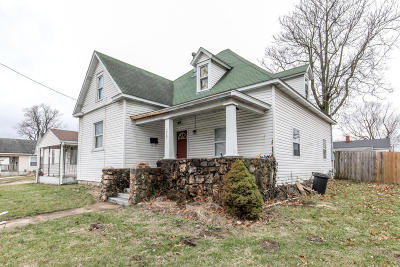 Springfield Single Family Home For Sale: 1727 North National Avenue
