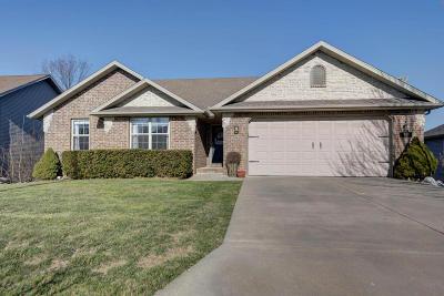 Nixa MO Single Family Home For Sale: $269,900