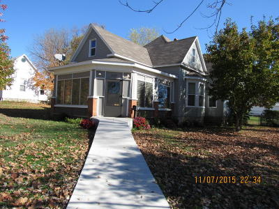 Monett Single Family Home For Sale: 503 8th Street