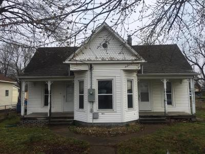 Single Family Home For Sale: 515 East Central Street