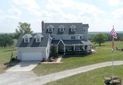 Marshfield Single Family Home For Sale: 3013 Tracks Road