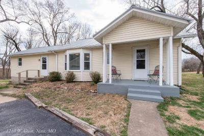 Nixa Single Family Home For Sale: 1210 West Guin Road