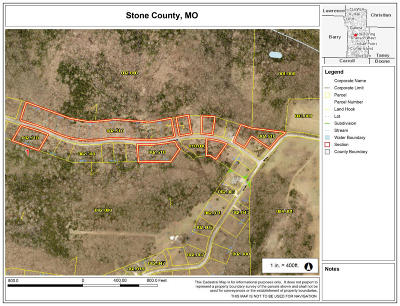Stone County, Taney County Residential Lots & Land For Sale: Lot 8 Hanging Branch