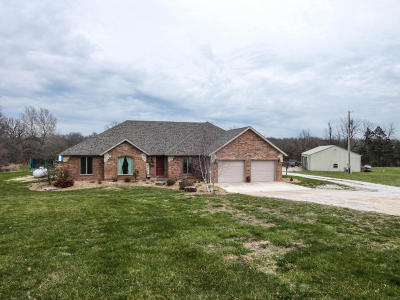 Bolivar Single Family Home Active w/Contingency: 4612 South 149th Road