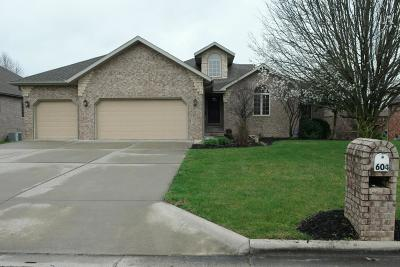 Nixa MO Single Family Home For Sale: $325,000