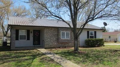 El Dorado Springs Single Family Home For Sale: 1625 South 175 Road