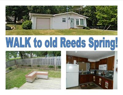 Reeds Spring MO Single Family Home For Sale: $55,900