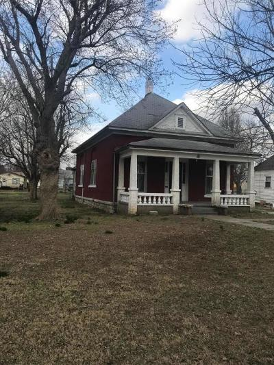 Monett Single Family Home For Sale: 602 East Benton Street