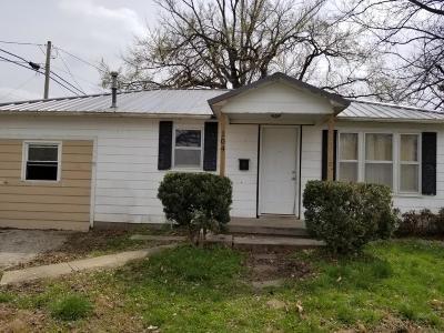 El Dorado Springs Single Family Home For Sale: 104 East Martin Street