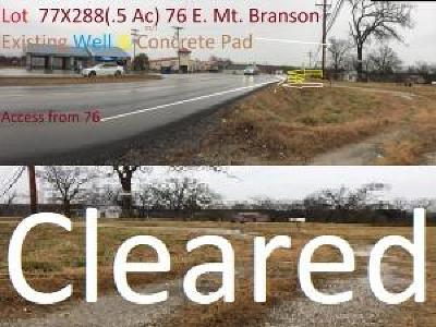 Branson  Residential Lots & Land For Sale: 1084 Mo-76