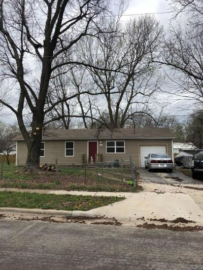 Springfield MO Single Family Home For Sale: $239,600