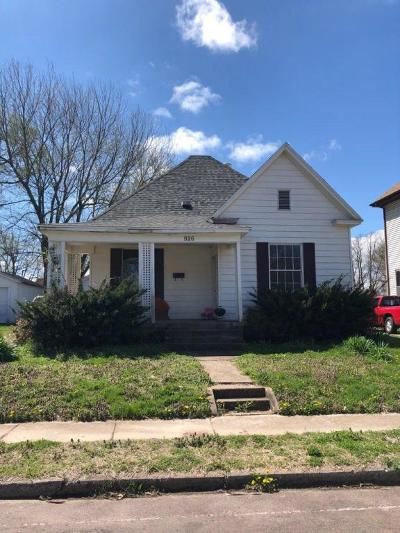 Springfield MO Single Family Home For Sale: $114,800