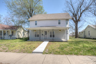 Joplin Single Family Home For Sale: 1127 South Jackson Avenue