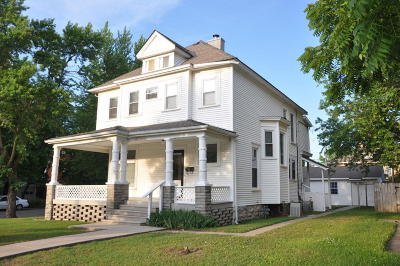 Joplin Single Family Home For Sale: 301 South Jackson Avenue