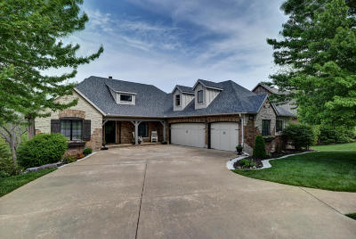 Springfield Single Family Home For Sale: 6056 South Overlook Trail