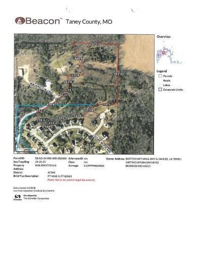 Branson, Branson West Residential Lots & Land For Sale: Tr B Walkington Lane