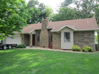 Nixa Single Family Home For Sale: 1575 Fairway Lane
