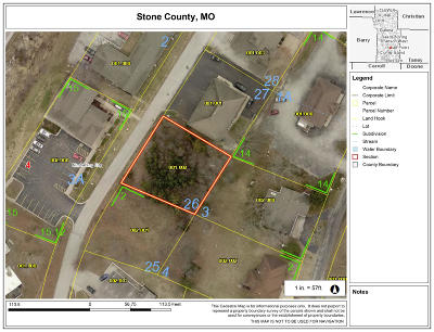 Stone County Commercial For Sale: Lot 26 Fisher Creek Road