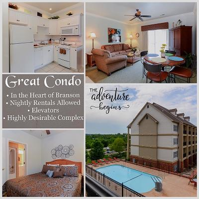 Branson Condo/Townhouse For Sale: 3830 Green Mountain Road