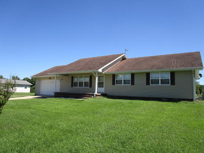 Mountain View MO Single Family Home For Sale: $119,500