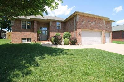 Nixa MO Single Family Home For Sale: $224,900