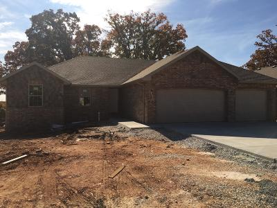 Nixa MO Single Family Home For Sale: $209,995