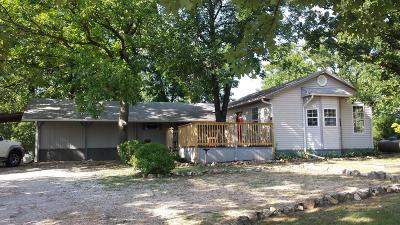 Branson MO Single Family Home For Sale: $107,900