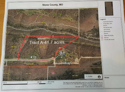 Branson, Branson West Residential Lots & Land For Sale: Tract A Meadowlark Road