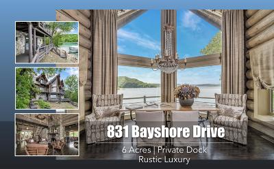Single Family Home For Sale: 831 South Bayshore Drive