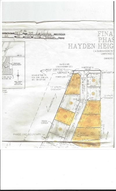 Marionville Residential Lots & Land For Sale: Lot 1 Dunkle Drive