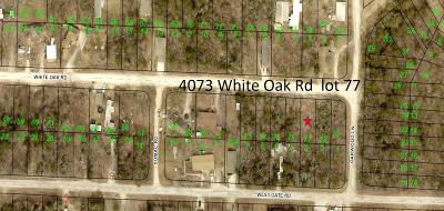 Merriam Woods Residential Lots & Land For Sale: Lot 77 White Oak Road