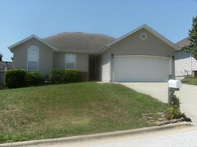 Nixa MO Single Family Home For Sale: $129,888