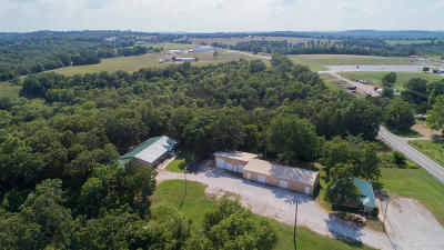 Kirbyville Commercial For Sale: 6452&6454 East State Hwy. 76