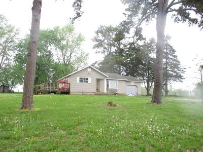 Koshkonong Single Family Home For Sale: Route 82 Box 2730