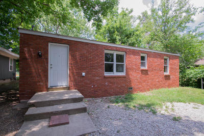 Springfield MO Single Family Home For Sale: $52,500