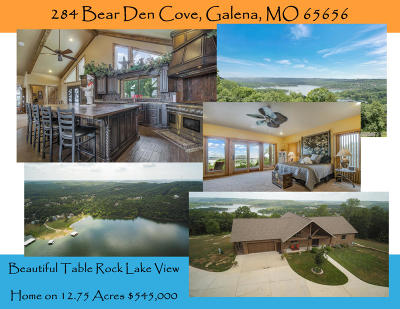 Galena Single Family Home For Sale: 284 Bear Den Cove