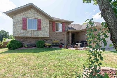 Nixa MO Single Family Home For Sale: $209,900