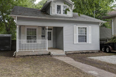 Springfield MO Single Family Home For Sale: $62,500