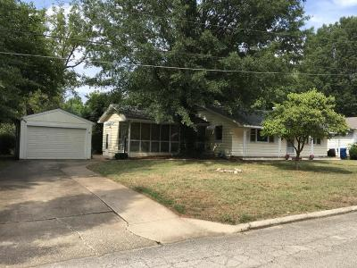 Springfield Single Family Home For Sale: 425 East Stanford Street