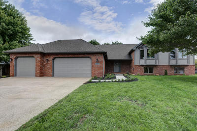 Springfield Single Family Home For Sale: 3341 West Birchwood Court