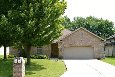 Springfield MO Single Family Home For Sale: $184,900