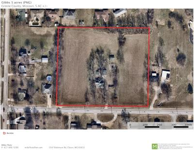 Republic Residential Lots & Land For Sale: 139 East Miller Road