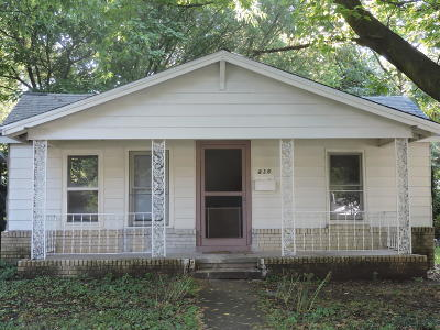 Springfield Single Family Home For Sale: 836 South Nettleton Avenue