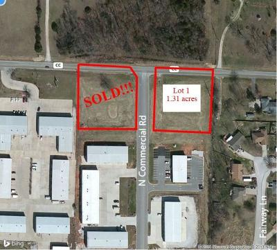 Nixa Residential Lots & Land For Sale: Lot 1 North Commercial Road