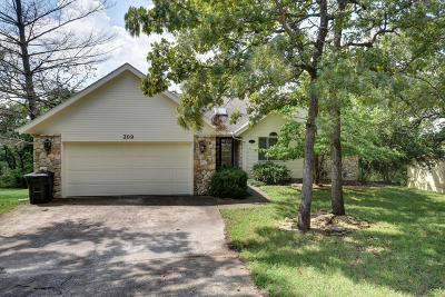 Cougar Trails East Single Family Home For Sale: 309 Cougar Trails East